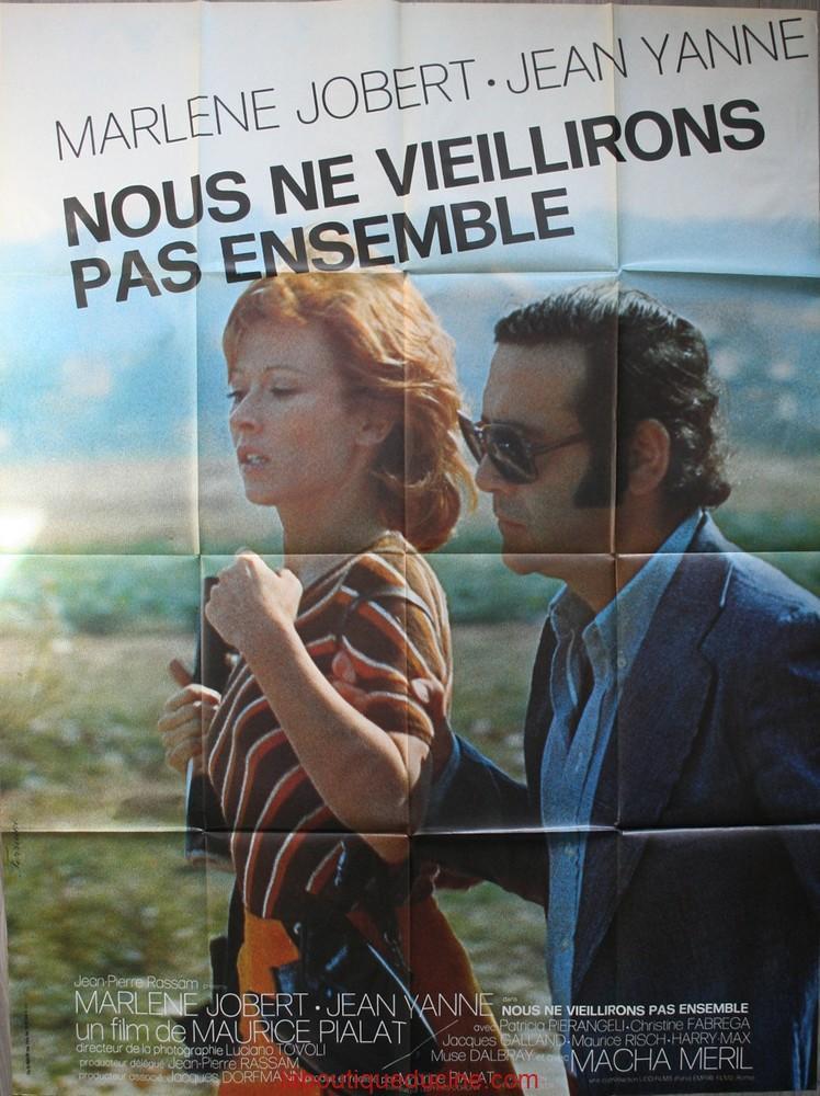 Nous Ne Vieillirons Pas Ensemble Affiche Cinéma Movie Poster Jean Yanne Ebay